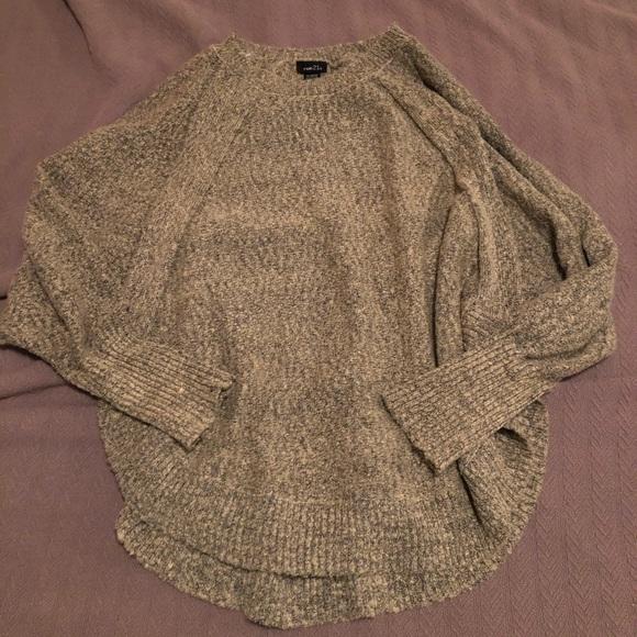 Oversize slouchy tan/cream sweater Sz XL